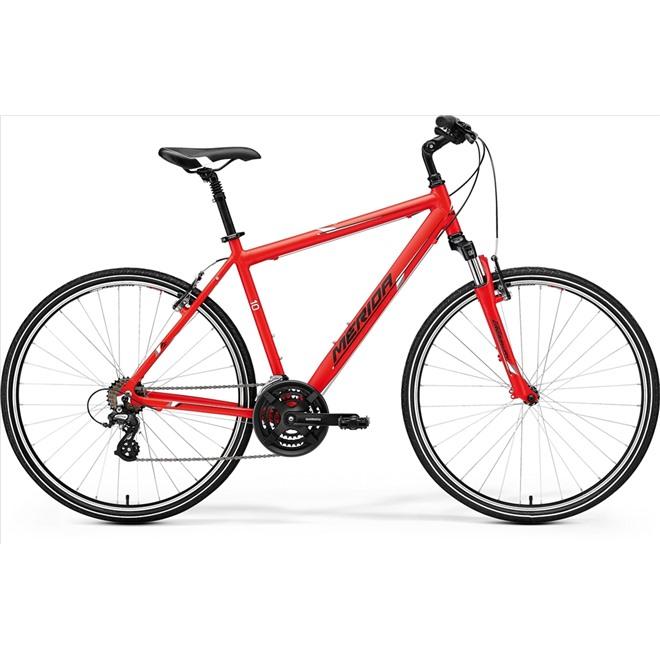 Велосипед Merida Crossway 10-V Matt Black/Green/Grey (2017), интернет-магазин Sportcoast.ru
