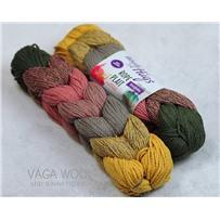 Пряжа ROPE PLAIT, цвет 195, 225м/250г, Woolly Hugs