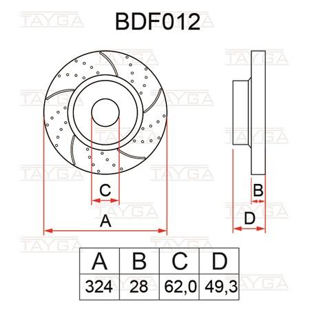 BDF012
