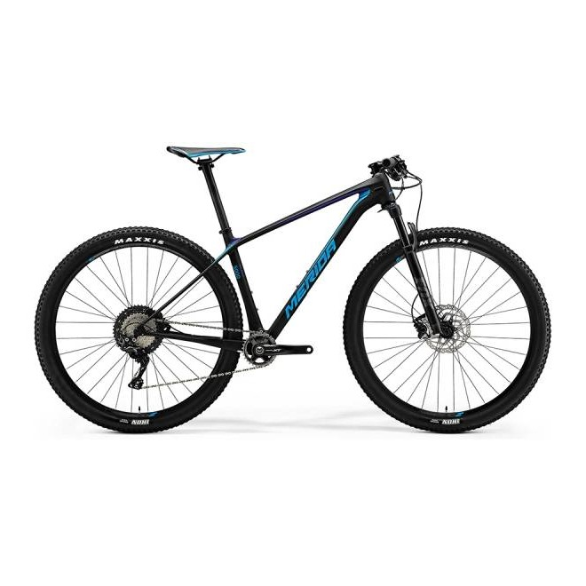 Велосипед Merida Big Nine 5000 Matt UD (Shiny/Blue) 2018, интернет-магазин Sportcoast.ru