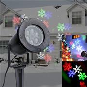 Уличный декоративный лазерный звездный проектор LED GARDEN LIGHT