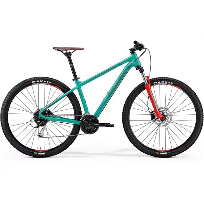 Велосипед Merida Big Nine 100 Green (Red/Dark Green) 2018, интернет-магазин Sportcoast.ru