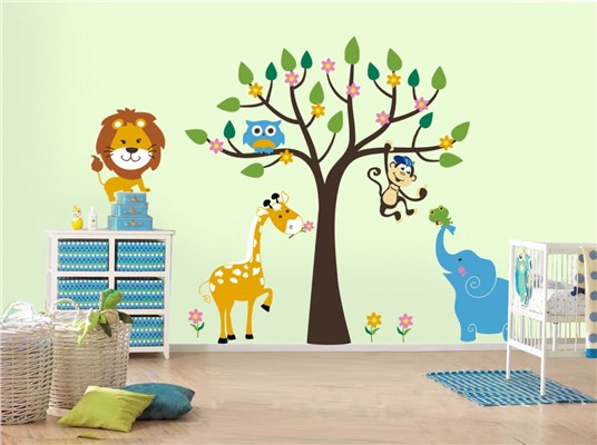 Украшения для детской комнаты