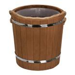 Ведро для бани Банные Штучки Таежное (термо) с пластиковой вставкой липа 9 л 31064