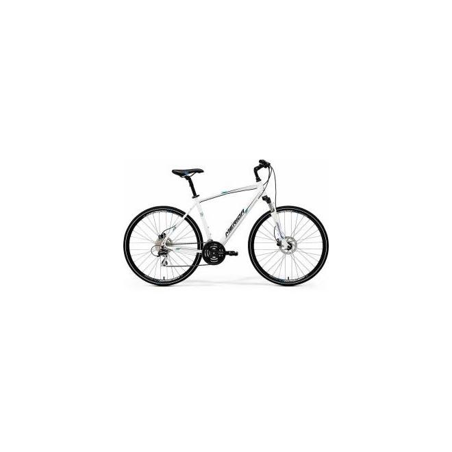 Велосипед Merida Crossway 20D White/Blue/Black (2017), интернет-магазин Sportcoast.ru