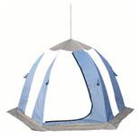Палатка рыбака Нельма 2 (автомат) (оранжевый/беж/хаки)