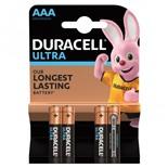 Батарейки алкалиновые Duracell Ultra Power LR03 (AAA) 4 шт