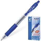 Ручка гелевая автоматическая с грипом Pilot G-2 линия 0,3 мм синяя BL-G2-5