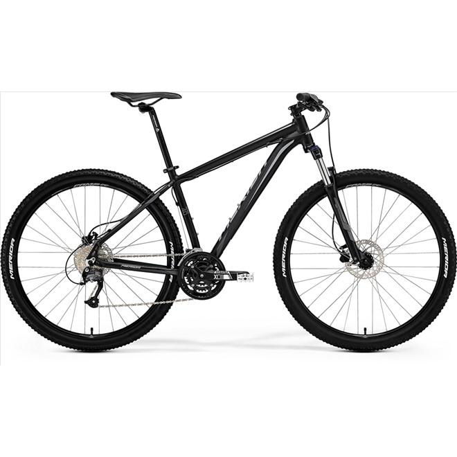 Велосипед Merida Big Nine 40D Matt Black/Grey (2017), интернет-магазин Sportcoast.ru