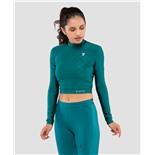 Женская футболка с длинным рукавом Majesty  emerald FA-WL-0201-EML, изумрудный