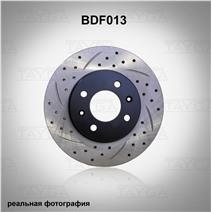 BDF013. Передняя ось. Перфорация + слоты