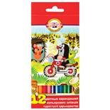 Карандаши цветные KOH-I-NOOR Крот 3,2 мм 12 цветов 3652012026KSRV
