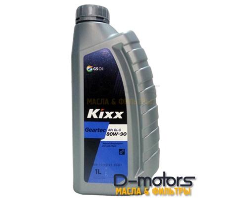 Трансмиссионное масло KIXX GEARTEC GL-5 80W-90 (1л.)
