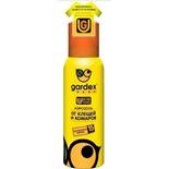 Аэрозоль Gardex Baby от клещей и комаров на одежду 100мл (0148)