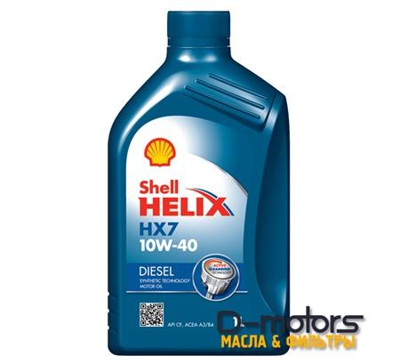 SHELL HELIX DIESEL HX7 10W-40 (1л.)